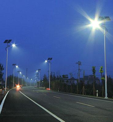 Eclairage LED Public Solaire